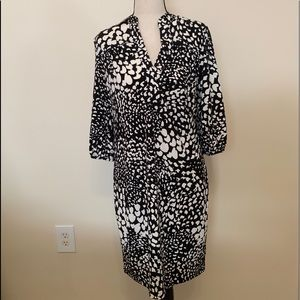 Banana Republic printed dress